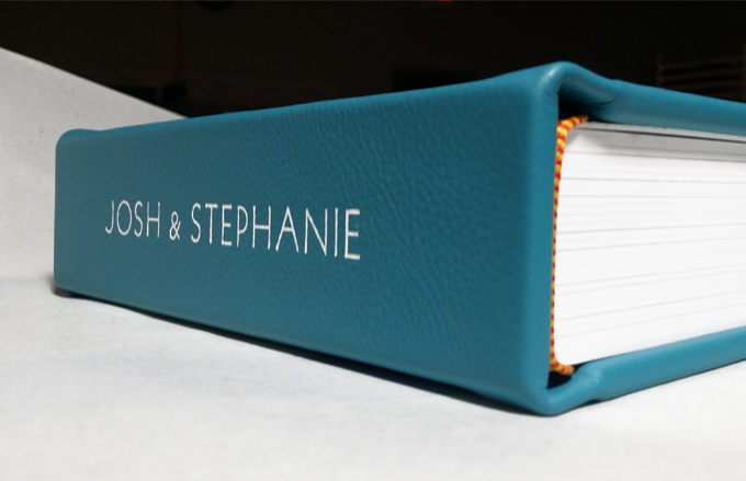 Tiffany Blue with Spine Imprint